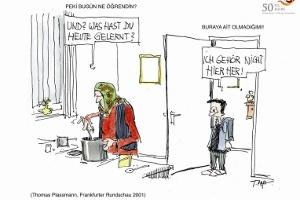 50 Yıl 50 Karikatür: Alman Medyasındaki Karikatürlerde Türkler