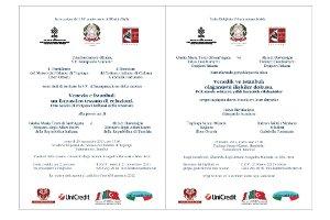 Venedik ve İstanbul: Olağanüstü İlişkiler Dokusu