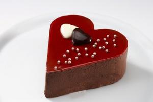 Aşkın Tarifi Özsüt'ün Sevgililer Günü Pastasında