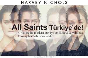 All Saints Shop-in Shop Konseptiyle İlk Defa Türkiye'de!