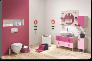 Gençler için Rengarenk Banyolar