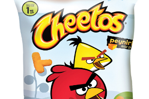 Angry Birds Çılgınlığı Cheetos, Lays, Ruffles ve Doritos Paketlerinde