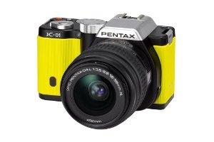 Bir Tasarım Harikası Aynasız Pentax K-01