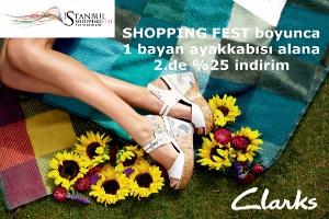 Shopping Fest Rüzgarı Clarks Mağazalarında