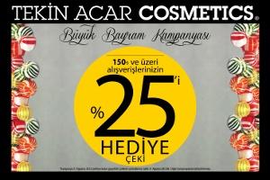 Bayram kampanyası Tekin Acar Cosmetics'te!