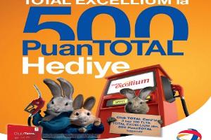 Total'den Club Total Kart Üyelerine 500 Ekstra Puantotal