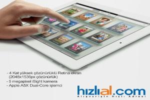 Yeni İpad Türkiye'de İlk Kez Hizlial.com'da Satışta