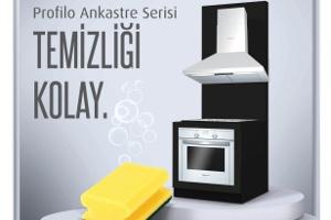 Yeni Profilo Ankastre Fırınları ile Mutfaklara Estetik Tasarrufla Birlikte Geliyor!
