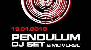 Pendulum DJ Set + MC Verse