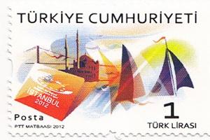 İstanbul 2012 Avrupa Spor Başkenti Özel Anma Pulu ve Zarfı Çıktı