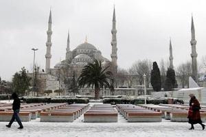 İstanbul`da Kar Yağışı Etkisini Arttırdı