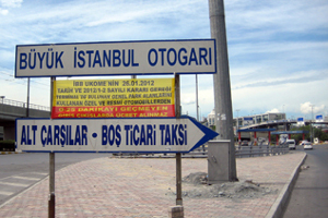 Otogar'da 0-25 dk. Parklanma Ücretsiz