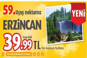 59. Uçuş Noktamız Doğu Anadolu'nun Turizm Cenneti Erzincan
