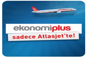 EkonomiPlus Sadece Atlasjet'te!