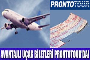 Avantajlı Uçak Biletleri Prontotour'da