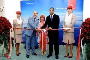 Emirates Havayolu'nun Lounge'u Atatürk Havalimanı'nda açıldı