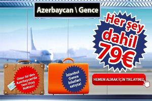 Onur Air'in yeni Uçuş Noktası Azerbaycan'ın Gence Şehri!