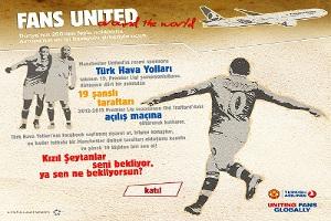 Türk Hava Yolları Old Trafford'a Uçuruyor!
