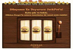 Dükkan Burger de Jackpot Burger Çılgınlığı Başladı!
