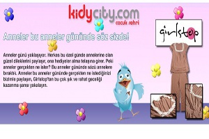 Kidycity.com'dan Annelere Hediye Var!