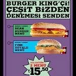 Burger King'çiler Çeşit Bizden Denemesi Sizden
