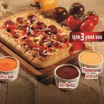 Dipsos Pizza, Lezzetini Üçe Katladı