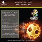 Doubletree Moda'da Euro 2012 Heyecanı