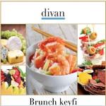 Pazar Günü Bruch Keyfi Divan'da Yaşanır