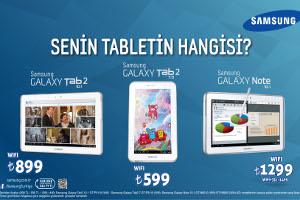 Samsung'dan Herkes İçin Tablet