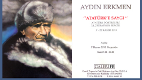 Aydın Erkmen Atatürk'e Saygı