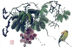 Sumi-e Grubu - Japon Mürekkep Resmi Sergisi III