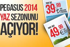 Pegasus 2014 Yaz Sezonunu Açıyor