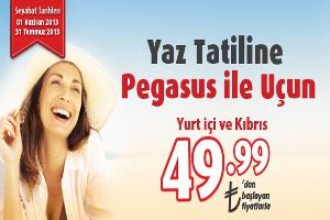 Yaz Tatiline Pegasus'la Uçun!