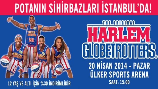 Dünyanın En Eğlenceli Basketbol Takımı Harlem Globetrotters Ülker Sports Arena'ya Geliyor.