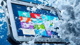 Panasonic 10 İnç Dayanıklı Windows Tabletinin Atex Sertifikalı Versiyonu