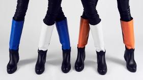 Pixy Rengarenk Çizmeleriyle Kış Soğuklarını Uzak Tutuyor