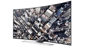 Curved UHD TV teknolojisi, Samsung ile Türkiye'de!
