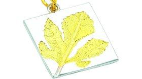 Sonbaharın Favori'si Sarı Yaprak Kolyeler