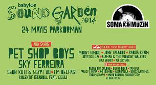 Babylon Soundgarden Istanbul 2014
