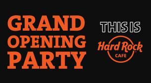 Hard Rock Cafe İstanbul Büyük Açılış Partisi
