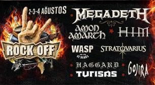 Rock Off Festival 3 - 4 Ağustos