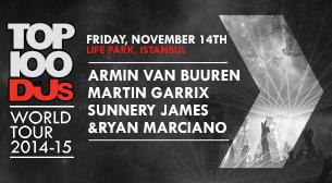 Top 100DJs World Tour: Armin van Buuren - Martin Garrix