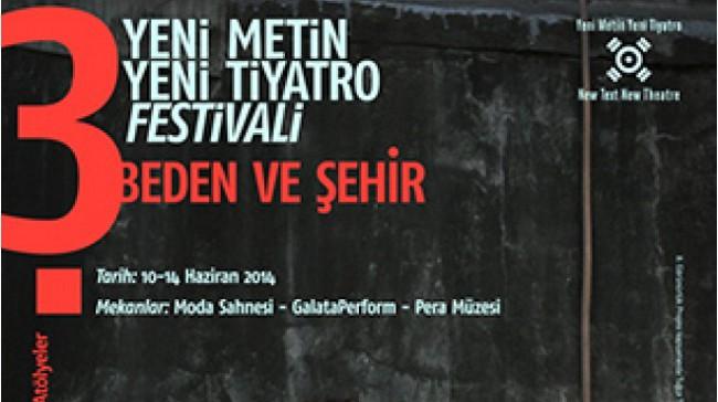 3. Yeni Metin Yeni Tiyatro Festivali
