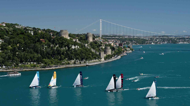 Extreme Sailing Series 'İn 6. Ayağı İstanbul'da