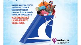 Anadolujet Ankara Shoppıng Fest'i Uçuruyor