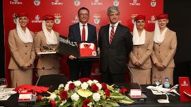 Emirates, Portekiz Devi Benfica'nın Resmi Havayolu