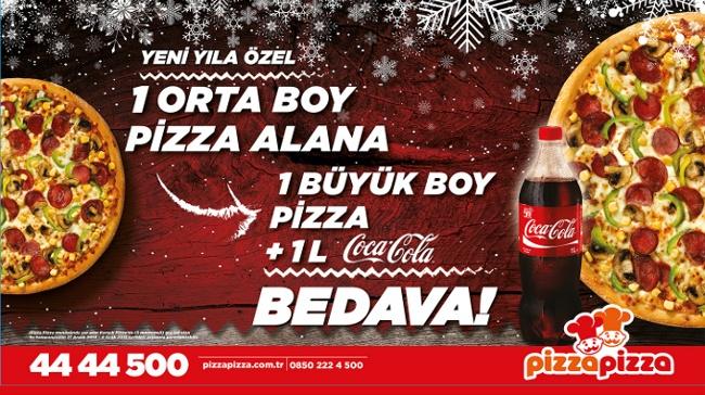 Pizza Pizza'dan Zengin Yılbaşı Kampanyası