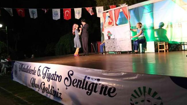 6. Mahallelerde Tiyatro Şenliği Başladı