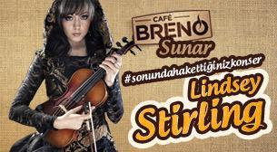 Cafe Breno Sunar: Lindsey Stirling