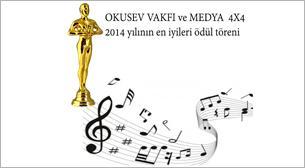Oku Sev Vakfı 2014 Yılının En İyileri Ödül Töreni